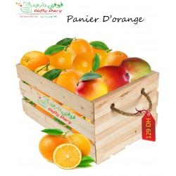 Panier d'orange